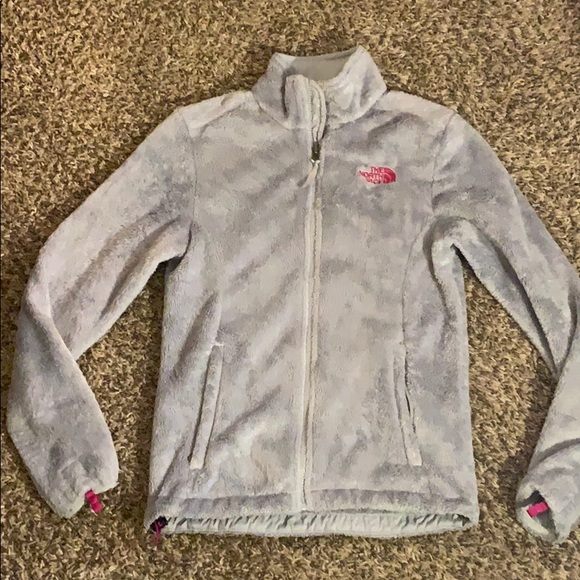 The North Face Jackets & Blazers - Gray OSO Soft THE NORTH FACE Fleece Jacket XS